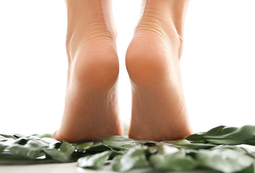 moczenie stóp w occie